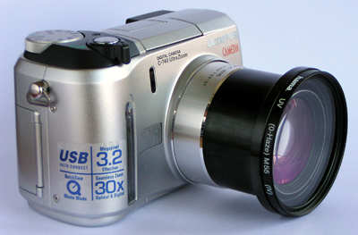Digitálny fotoaparát Olympus Camedia C740